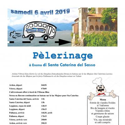 Flyer Pèlerinage Eremo